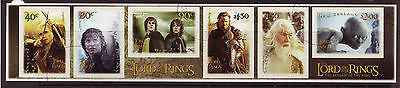New Zealand 2003 Lord Of The Rings Part 3 Self Adhesive Fine Used