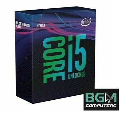 Intel Core i5-9600K 4.60GHz Processor BX80684I59600K