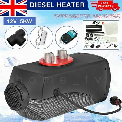 15L Air Diesel Heater 5KW 12V LCD Monitor Remote Boats Car Bus Trucks Large Fuel