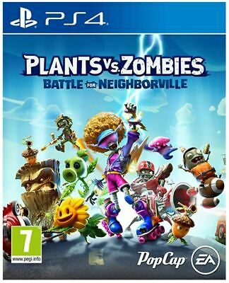 Plants vs Zombies: Battle for Neighborville (PS4) BRAND NEW AND SEALED  IN STOCK