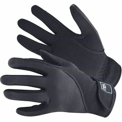 Woof Wear Precision Thermal Gloves - For Horse Riding - Black - Size 8 - BN