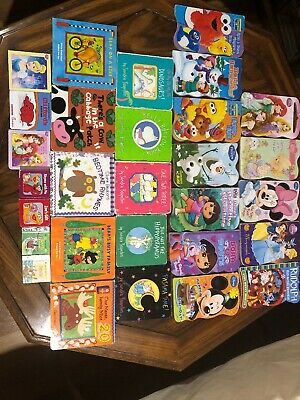 Childrens Book Lot (Board Books) Disney, Nickelodeon, Great Price For Lot