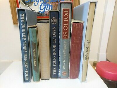 7 folio society books,,,,,,,126