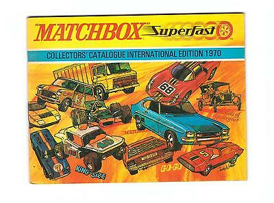 "Gskat Katalog/Catalogue  ""Matchbox 1970 International Edition"" , Like New/Neu !"