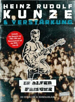 Heinz Rudolf Kunze - In alter Frische (4 DVDs + CD)