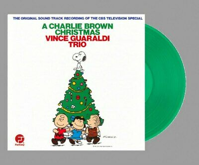 Vince Guaraldi Trio - A Charlie Brown Christmas [LP] (GREEN colored Vinyl)