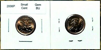 Canada 2006P Small Cent GEM BU UNC Red Penny!!