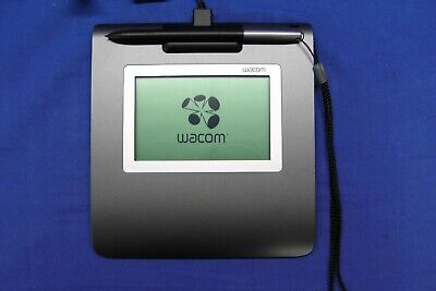 "Wacom STU-430/G LCD 4.50"" Signature Pad With Pen & USB Cover (STU-430) #3351"