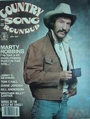1978 Country Song Roundup Magazine (Marty Robbins Cvr, Bill Anderson +