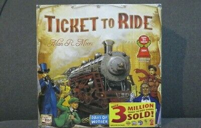 NEW - Ticket To Ride - Train Adventure Board - Game Days of Wonder - SEALED