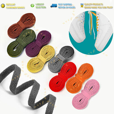 Shoelaces Colorful Coloured Flat Round Bootlace Sneaker Shoe Laces Unisex Xpand