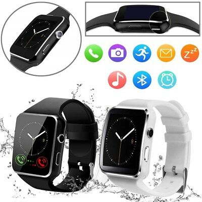 Fitness FIT#BIT Smart Watch Activity Tracker MENS KIDS Camera FOR Android
