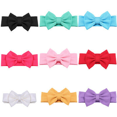 New Kids Hair Bow Turban Hair Ties Headband Hair Bow Headband Headwear