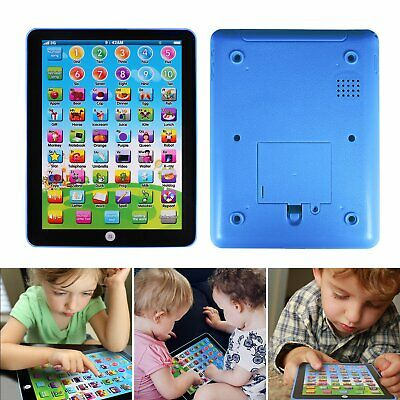 Baby Tablet Educational Toys Girls Toy For 1-5 Year Old Toddler Learning English