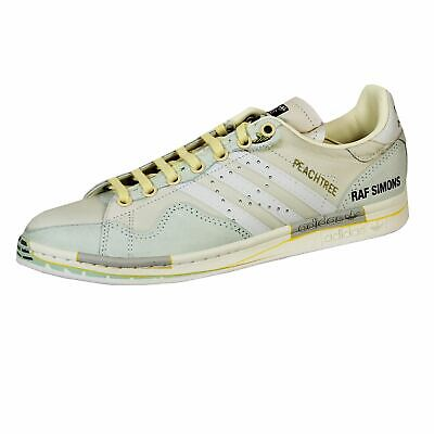 Adidas By Raf Simons Mens Rs Peach Stan Smith Light Sand And Red Trainers