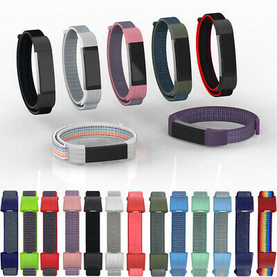 Tracker Wristbands Watch Band Nylon Loop Strap Bracelet For Fitbit Alta HR ACE
