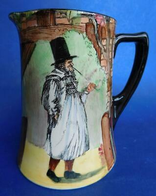 Royal Doulton Series Ware Jug Gaffers I be all the way from Zummerset D4210
