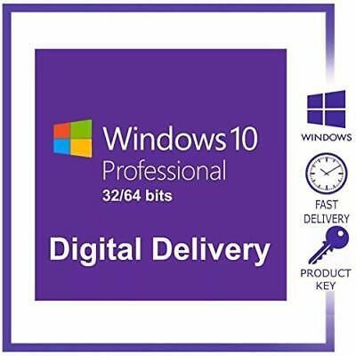 Genuien Windows 10 Pro Professional 32/ 64bit Installation License Key