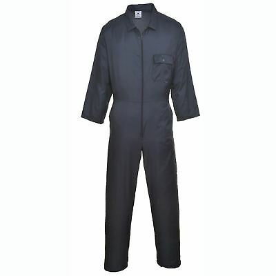 Portwest Nylon Zip Boilersuit Coverall Overall Water Resistant Pockets