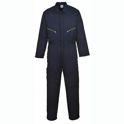 Portwest Orkney Lined Boilersuit Coverall Overall General Workwear Pockets