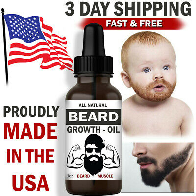 Beard Growth Oil Beard Oil Mustache Hair Care Gift for Men Grooming Supplies