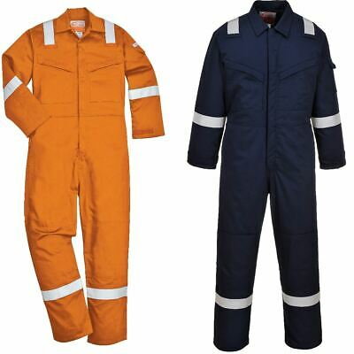 Portwest Padded Antistatic Coverall Overall Boilersuit Bizflame Flame Resistant