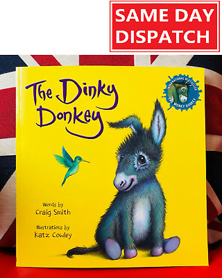 The Dinky Donkey By Craig Smith (Paperback 2019) The Wonky Donkey Book 2 *NEW*