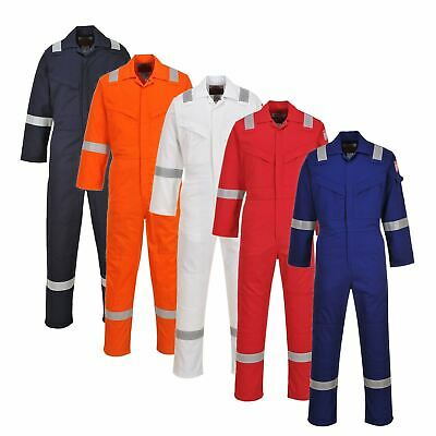 Portwest Flame Resistant & Antistatic Coverall Overall Boilersuit