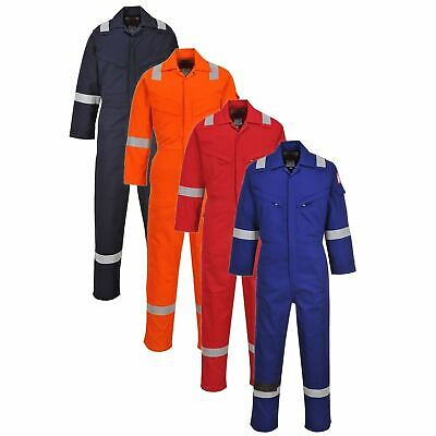 Portwest Lightweight AS Coverall Overall Boilersuit Flame Resistant Anti Static