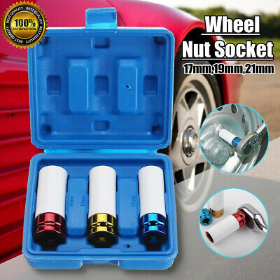 "Sunex 9pc 1//2/"" Wheel Protector Thin Wall Deep Well Lug Impact Sockets Set 2849"