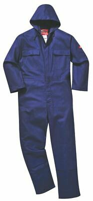 Portwest BizWeld Hooded Coverall Overall Boilersuit Flame Resistant