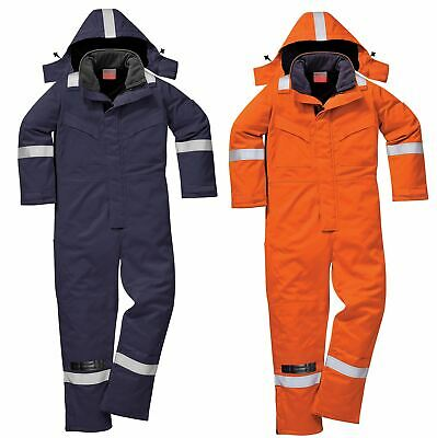 Portwest Flame Resistant Winter Coverall Overall Boilersuit Workwear