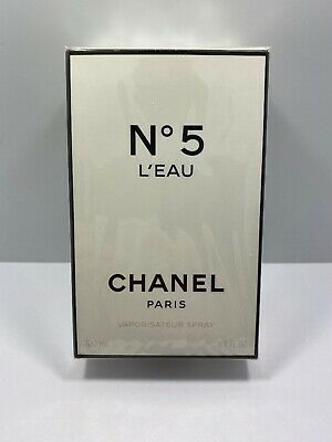 New Authentic 100ml Chanel L'EAU No 5  Eau De Toilette Perfume 3.4oz France