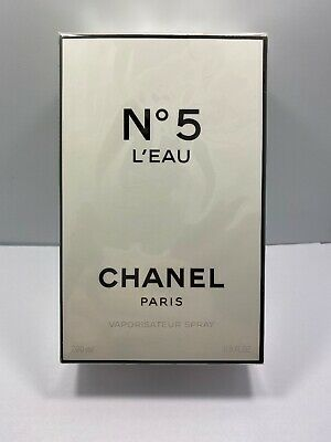 New Authentic 200ml Chanel L'EAU No 5  Eau De Toilette Perfume 6.8oz France