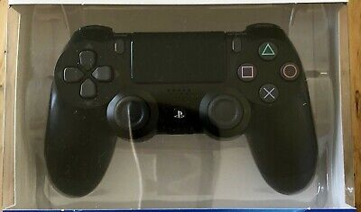 SONY PLAYSTATION 4 PS4 DualShock 4 Wireless Controller BLACK Sony - FREE P&P NR