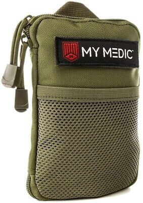 NEW My Medic The Solo Advanced Waterproof Lightweight First Aid Kit Green