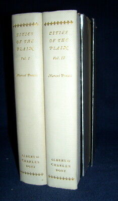 Marcel Proust  CITIES OF THE PLAIN 1st/slipcase limited ed. numbered REMEMBRANCE