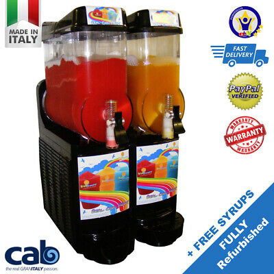 Slushy Machine, Quality Italian built, Fully Refurbished ready for summer!