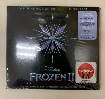 Disney's Frozen 2 Soundtrack Limited Edition Target Exclusive CD