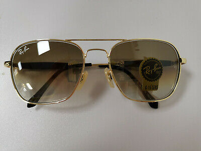 Ray-Ban Sunglasses Aviator RB3025 004/51 Gold Brown Gradient Medium 58mm