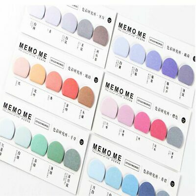 Colorful Cute Practical Office Supplies Memo Pad Paster Stickers Sticky Notes