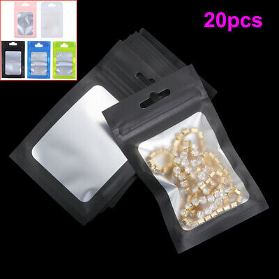 Foil Self Seal Waterproof Packaging Bag Storage Reclosable Pouches Ziplock Bags