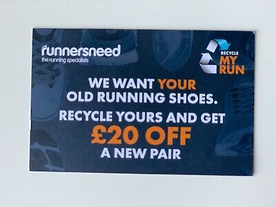 £20 off runnersneed discount code coupon