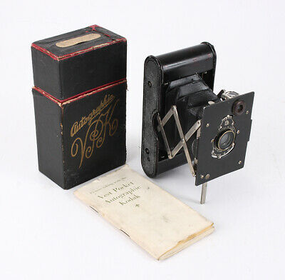 Kodak Vest Pocket Autographic Boxed, Bad Shutter, Other Issues, As-Is/209070