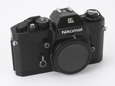 Nikon Nikomat El Black Body, Manual Speeds Off, Meter Over-Sensitive/190187