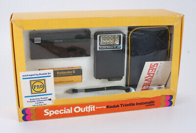 "KODAK TRIMLITE INSTAMATIC, ""SPECIAL OUTFIT"" PACKAGED BY P.R.O BOXED/cks/198915"