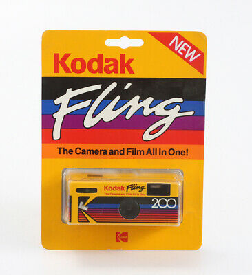 KODAK FLING IN A SEALED BLISTER PACK, ONE-TIME-USE, FOR DISPLAY ONLY/cks/200173