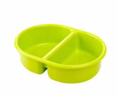 Neat Nursery Company OVAL TOP 'N'TAIL BOWL - LIME Baby Bathtime Accessory - NEW