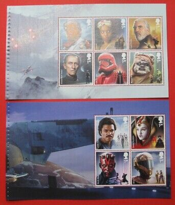 DY31 2019 STAR WARS .... STITCHED  CHARACTER Commemoratives Panes