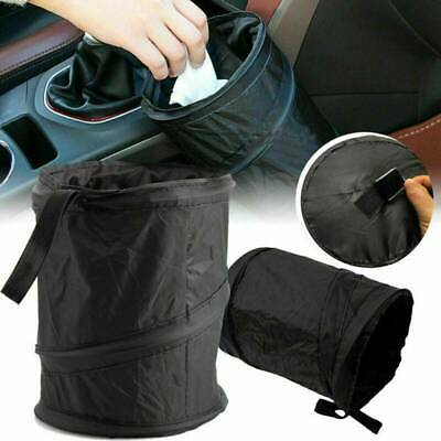 Portable Collapsible Car Trash Can Pop-up Leak Proof Trash Bin Hanging Bag Box